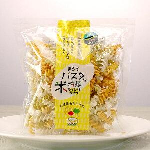 まるでパスタな米粉麺 ミックス 100g【グルテンフリー/小麦不使用/合成着色料不使用】[TY-J-K][T8]