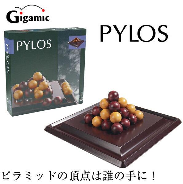 【送料無料】ギガミック PYLOS ピロス パズル対戦ボードゲーム 脳トレ 木製玩具【fsp2124】