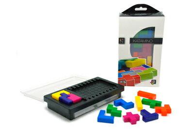 ギガミック Gigamic Katamino Pocket(カタミノポケット) ミニ パズル 脳トレ 木製玩具