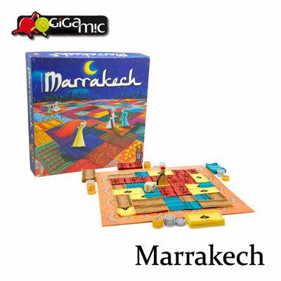 【送料無料】ギガミック Marrakech マラケシュ 対戦ボードゲーム 脳トレ 陣取りゲーム【fsp2124】