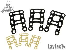 メール便 ネコポス可 Laylax ライラクス BITE-MG バイトマグシリーズ ベルクロシール M4M16用 3枚セット BK TAN