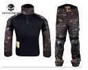 Emerson Crye Precision type G2 コンバットシャツ&パンツ/マルチカムブラック