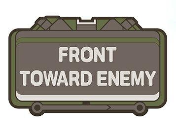 ハニービー マルチユース ラバーマット M18A1 クレイモア メンテナンスマット フロアマット 玄関マット ガレージ ミリタリー アメリカン