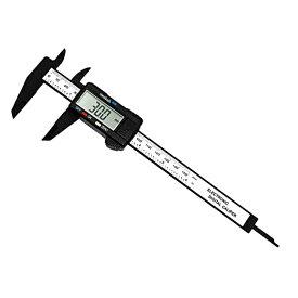 ネコポス可 超軽量!大型液晶付デジタルノギス 0〜159mmまで外径、内径、深さ、段差などを計測可能 LR44乾電池付属 工具 ツール 計測機器