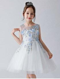 3d9cc68f7a3d8 110-170CM 子供 ワンピース ドレス 女の子 カラードレス フラワー
