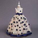ウェディングドレスカラーミニドレスワンピースVネック結婚式パーディ-花嫁ドレス編上げタイプ