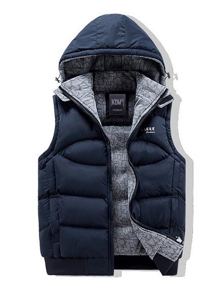 M-XXXL 4color ベスト/無地/ノースリーブ/メンズ/ダウンジャケット/お兄系 メンズファッション/ 防寒 秋冬  中綿
