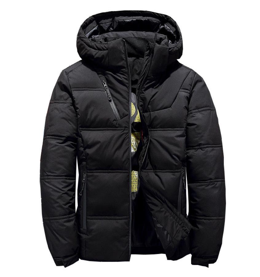 ダウンジャケット ファー付き メンズ 暖かい アウター ジャケット コート シンプル  プルオーバー アメカジ ストリート ウルトラ 秋冬 防風 防寒 M−3XL ダウン入る アウトドアスポーツ