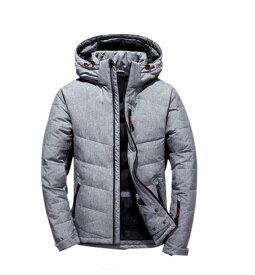 ダウンジャケット ファー付き メンズ 暖かい アウター ジャケット コート シンプル  プルオーバー アメカジ ストリート ウルトラ 秋冬 防風 防寒 M−3XL ダウン入る