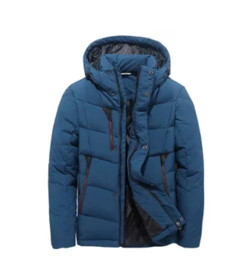 ダウンジャケット ファー付き メンズ 暖かい アウター ジャケット コート シンプル  プルオーバー アメカジ ストリート ウルトラ 秋冬 防風 防寒 M−3XL ダウン入る 55%