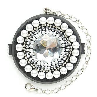 58mm/ デコレンズキャップ /Deco-lenscap/ white pearl