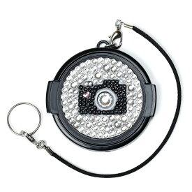レンズキャップ/49mm/キラキラカメラ