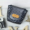 Cute chekicase cheki instax mini all models compatible camera / French Navy dot