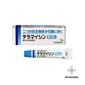 テラマイシン軟膏a 6g 化膿した皮膚炎 とびひ 毛のう炎(第2類医薬品)