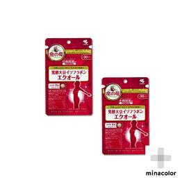 エクオール 30粒 ×2袋 小林製薬の栄養補助食品 発酵大豆イソフラボン(サプリメント)