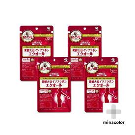 エクオール 30粒 ×4袋 小林製薬の栄養補助食品 発酵大豆イソフラボン(サプリメント)
