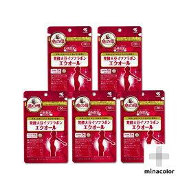 エクオール 30粒 ×5袋 小林製薬の栄養補助食品 発酵大豆イソフラボン(サプリメント)