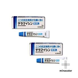 テラマイシン軟膏a 6g ×2個セット 非ステロイド 化膿した皮膚(第2類医薬品)
