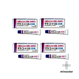 テラ・コートリル軟膏a 6g ×4個セット 処方薬と同じ成分 抗生物質・ステロイド配合 (指定第2類医薬品)