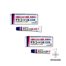 テラ・コートリル軟膏a 6g ×2個セット 皮膚の薬 化膿した湿疹(指定第2類医薬品)