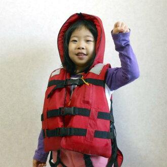 兒童緊急救生衣扣類型 (與救生衣的災難預防罩)