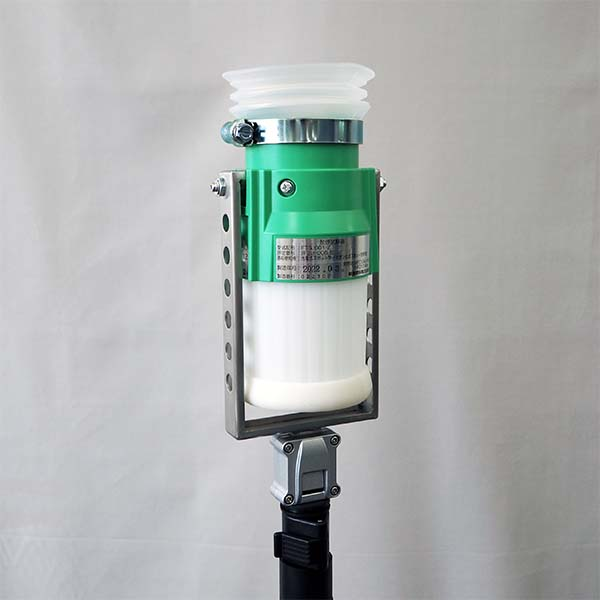 煙感知器用ガス式試験器セット(本体・ガスボンベ・支持棒・収納袋付)  FTGJ001-Z 【防災用品/消防設備点検用具】