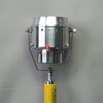 現場熱遙感設備加熱測試儀設置港元 3 (身體、 火山口、 配接器,支撐棒,儲物袋)