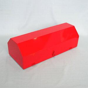 車両用格納箱 (消火器ステッカー付) 粉10型用 スチール製 サイズ:195×615×260 【消火器BOX】
