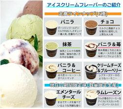 アイスの味の種類