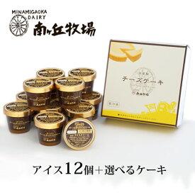 [南ヶ丘牧場のアイスクリームとケーキセット](アケ12)