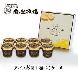 [南ヶ丘牧場のアイスクリームとケーキセット](アケ8)