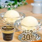 30個入り[南ヶ丘牧場のアイスクリーム](バニラ30)送料無料