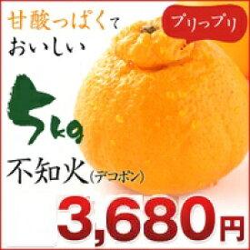 不知火 デコポン!不知火(デコポン) 5kg 熊本県産 【不知火】【デコポン】【5kg】