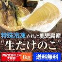冷凍たけのこ 1kg 季節を問わず、新鮮なままお届け! 鹿児島県産 【たけのこ】【冷凍たけのこ】【1kg】【筍】【筍料理…