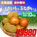 【送料無料】北海道産じゃがいも玉ねぎセット合計10kg【オススメ】