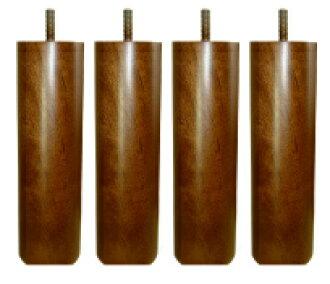 [换] 高脚杯床垫床木腿 20 厘米布朗 4 (1 套) * 我们与腿同时购买需要的床垫