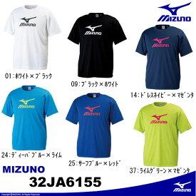 [MIZUNO]ビッグロゴTシャツ 32JA6155