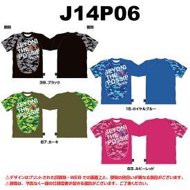 ゴーセン カモフララグランTシャツ  J14P06