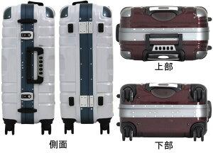 上下ハンドルGripMasterグリップマスター搭載!スーツケース≪B5225T≫54cmMサイズ(2日〜4日向き)中型フレームタイプTSAロック付双輪キャスター搭載【送料無料&1年保証付】ESCAPE'S