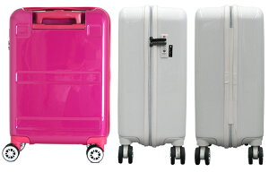LCC機内持ち込み対応サイズ鏡面スーツケース≪GRE2042≫48cmSサイズファスナータイプ約1日〜3日向き小型TSAロック付双輪キャスター搭載【送料無料&1年保証付】GREENWORKSグリーンワークス