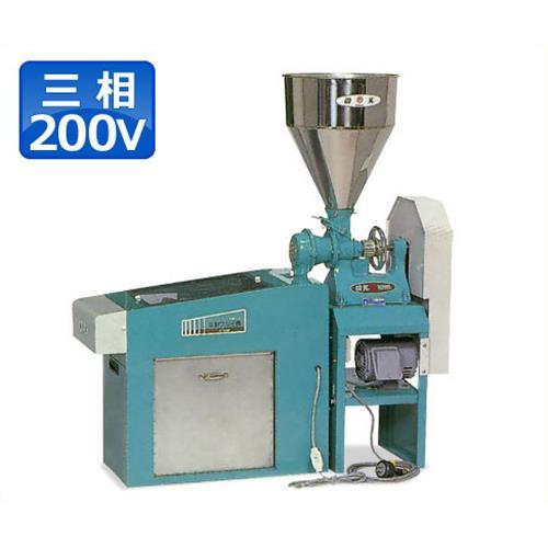国光社 そば製粉機+粉ふるい機セット 粉太郎 SN-C型 (三相200V750W)