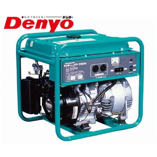 デンヨー 小型エンジン発電機 GA-2605U2 / GA-2606U2 (100V/2.6kVA)
