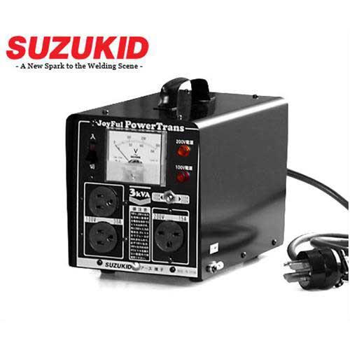 スズキッド 昇圧・降圧兼用 変圧器 『パワートランス』 JPT-30 (100V変換アダプター付き/出力3KVA)