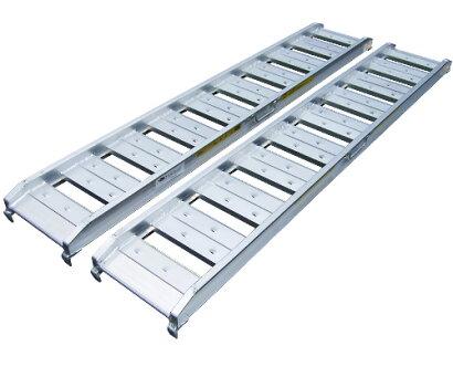 アルミブリッジ(ラダーレール)1本ABS-180-25-0.5[6尺/荷重0.5t/幅25cm]