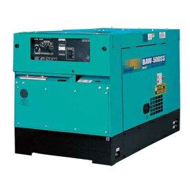 デンヨー 防音型ディーゼルエンジン溶接機 DAW-500SS (溶接発電兼用) [エンジンウェルダー]