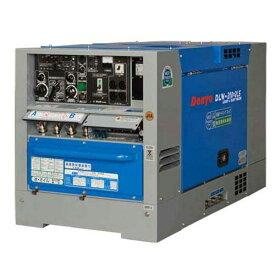 デンヨー 防音型ディーゼルエンジン溶接機 DLW-200×2LS (溶接発電兼用) [エンジンウェルダー]