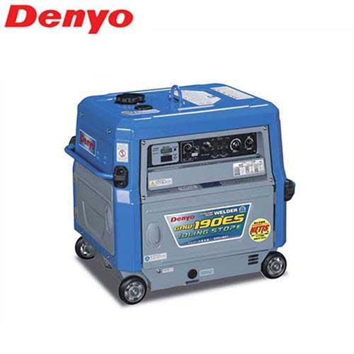 [最大1000円OFFクーポン] デンヨー 防音型エンジン溶接機 GAW-190ES (発電機能付き) [エンジンウェルダー]