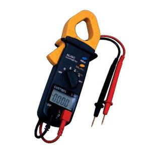 カスタム クランプテスタ C-03 AC/DC電流測定可能 データホールド機能付