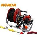 アサバ 小型エンジン動噴 ポンプティー EP-100SM (吸水量6.3L/分) [麻場 asaba 動噴 噴霧器 噴霧機][r20]