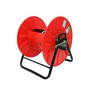 スチール製 高圧スプレーホース用ホースリール (20〜50m用/ホース無し) [巻取り機 高圧ホース]